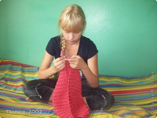 Вот и готова моя юбочка для младшей сестренки. Прошу очень строго не судить!!!!!!!!!!!!!!!!! фото 3