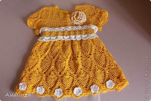 Платье с ананасами