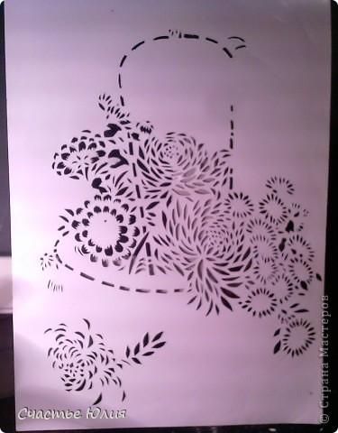 корзинка с цветами. повторяшка. фото 6