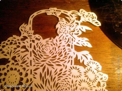 корзинка с цветами. повторяшка. фото 8