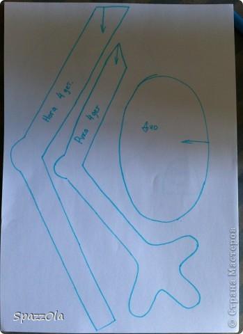 Сшила я себе лягушку. Выкройка полностью моя. фото 11