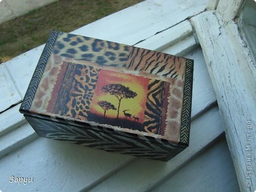 """Шкатулочка """"Африка"""" фото 5"""