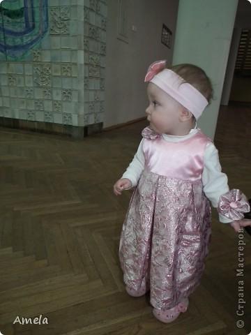 Вот такое платье у меня получилось на первый новый год для моей доченьки. фото 3