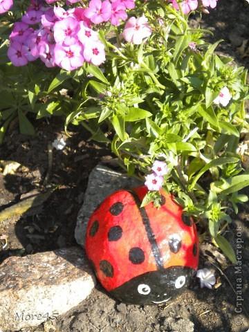Вот такой пучеглазик получился, теперь живет в саду. фото 8