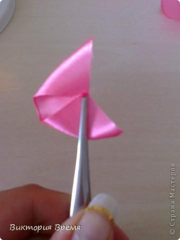 Мастер класс розы для топиария. Как вы просили))) вот такая розочка! фото 4