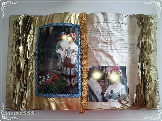 Попросила меня подруга сделать подарок своей сестре на годовщину свадьбы.Бракосочетание проходило в Венеции.выбрали из множества очень красивых фотографий несколько и работа закипела.........это обложка.... фото 2