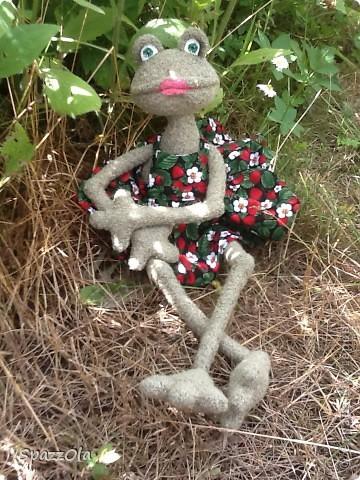 Сшила я себе лягушку. Выкройка полностью моя. фото 4