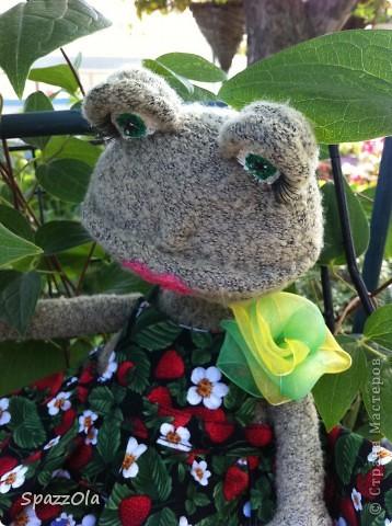 Сшила я себе лягушку. Выкройка полностью моя. фото 9