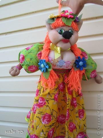 Кукла пакетница. фото 9