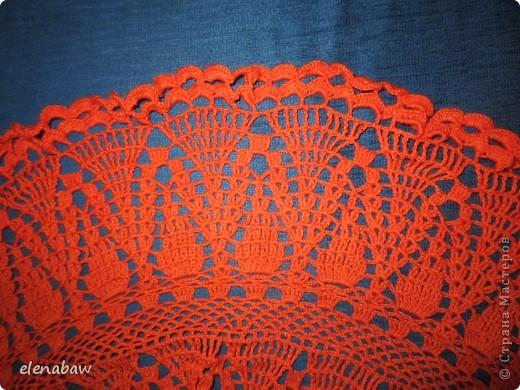 Пляжная юбка Оранжевое безумие, связалась случайно, как первый вариант юбки для себя. Я не угадала с размером, хотела распустить, но в гости пришла сестра и выпросила отдать юбку ей! В итоге вот что вышло! фото 7