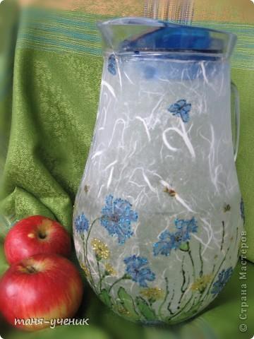 вот такой подарочный комплект делала брату на розовую (10 лет) свадьбу, эти розы будут стоять долго :) фото 4