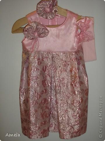 Вот такое платье у меня получилось на первый новый год для моей доченьки. фото 1
