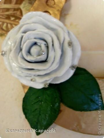 Подкова с розой. фото 2