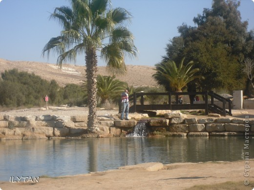 На фото озеро посреди каменистой пустыни. Снимки сделаны с разных ракурсов. (Для тех, кто никогда не видел пустыни.) фото 5