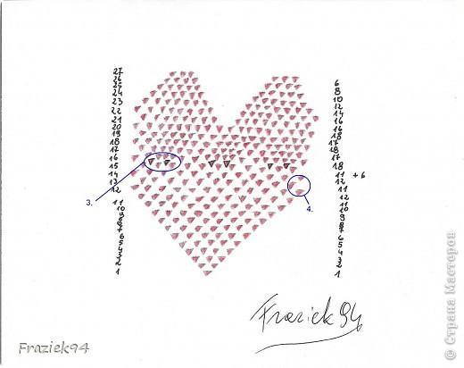 Serce na zdjęciu poniżej wykonane jest z modułów 1/64, czyli kartkę A4 dzielimy na 64 kawałki. Potrzeba ich 744. фото 2