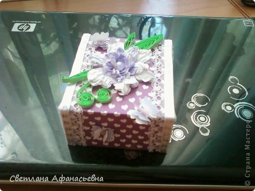 кулончик и коробочка в подарок племяшке. фото 4