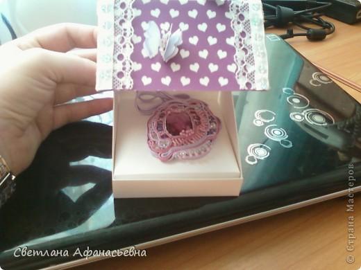 кулончик и коробочка в подарок племяшке. фото 2