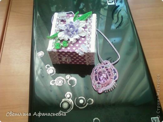 кулончик и коробочка в подарок племяшке. фото 1