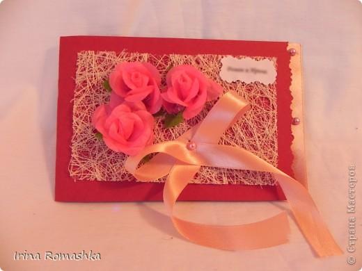 Приглашение на свадьбу ручной работы. фото 2