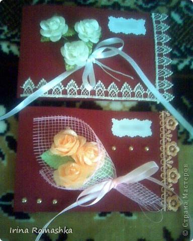 Приглашение на свадьбу ручной работы. фото 6