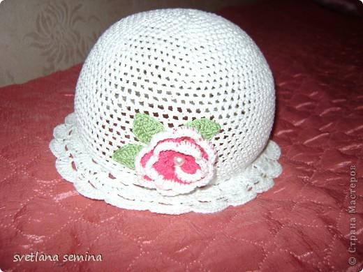 Беленькая шляпка