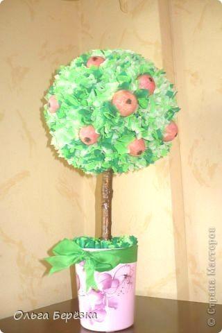 Вот,яблонька получилась))))) фото 1