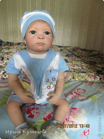 Ну вот,вчера народился новый реборник Карапуз Егорка)) фото 7