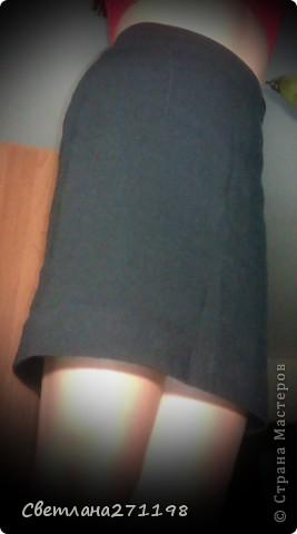 Юбка карандаш фото 2