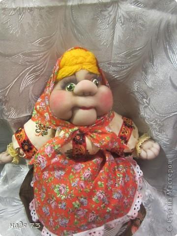 Кукла пакетница. фото 12