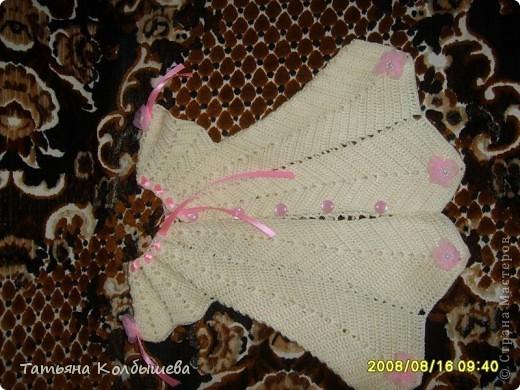 Крестильный комплект для дочурки фото 2