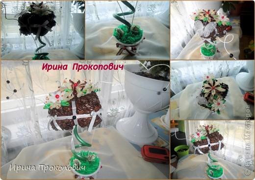 Два влюбленных сердца )сделала на Серебрянную свадьбу) фото 4