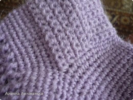 Вот такие носочки я себе связала. фото 3