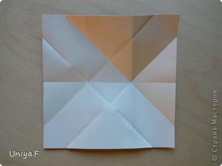 Здравствуйте!  Чтобы не откладывать в долгий ящик, выкладываю туториал на волшебника Мерлина.  Name: Merlin  Designer: Uniya Filonova  Units: 30  Paper: 10*10 cm  Final height: ~ 11,5 cm  Joint: no glue фото 7