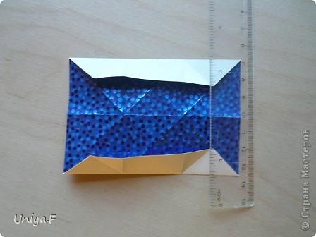 Здравствуйте!  Чтобы не откладывать в долгий ящик, выкладываю туториал на волшебника Мерлина.  Name: Merlin  Designer: Uniya Filonova  Units: 30  Paper: 10*10 cm  Final height: ~ 11,5 cm  Joint: no glue фото 11