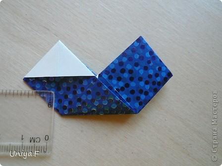 Здравствуйте!  Чтобы не откладывать в долгий ящик, выкладываю туториал на волшебника Мерлина.  Name: Merlin  Designer: Uniya Filonova  Units: 30  Paper: 10*10 cm  Final height: ~ 11,5 cm  Joint: no glue фото 15