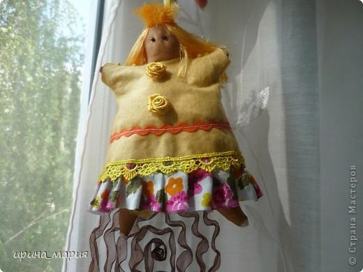 тильда- пирожница, тонирована кофе фото 1