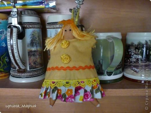 тильда- пирожница, тонирована кофе фото 2