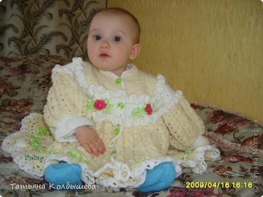 Пальтишки для дочурки фото 3