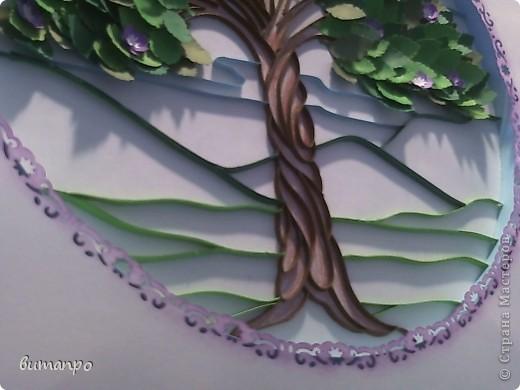 Вот дошла очередь и для моих работ! С гордостью представляю вам первую по очереди картину. У меня было вот такое вдохновение... мне вдруг захотелось сделать дерево с пышной листвой... а вдохновляющим образом, послужила вот эта моя работа  http://stranamasterov.ru/node/376658  И я в инете, нашла подлинник этого изображения, вот здесь http://www.liveinternet.ru/users/4448908/post188211331/ фото 15