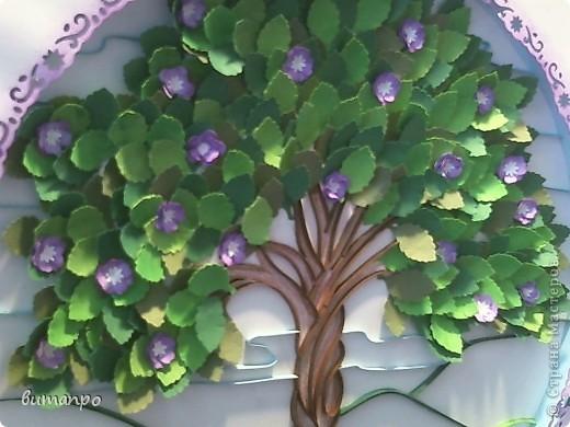 Вот дошла очередь и для моих работ! С гордостью представляю вам первую по очереди картину. У меня было вот такое вдохновение... мне вдруг захотелось сделать дерево с пышной листвой... а вдохновляющим образом, послужила вот эта моя работа  http://stranamasterov.ru/node/376658  И я в инете, нашла подлинник этого изображения, вот здесь http://www.liveinternet.ru/users/4448908/post188211331/ фото 25