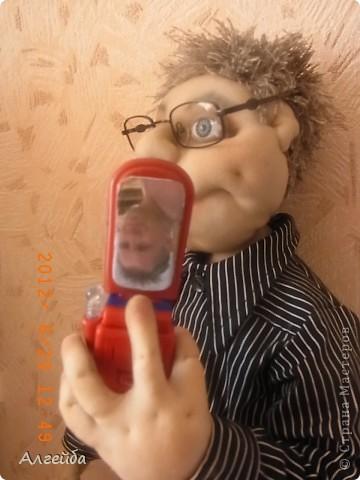 Домовенок-хранитель дома.... Имя не дала,уехал в город Киров на постоянное место жительства! фото 6
