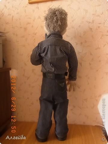 Домовенок-хранитель дома.... Имя не дала,уехал в город Киров на постоянное место жительства! фото 8