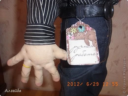 Домовенок-хранитель дома.... Имя не дала,уехал в город Киров на постоянное место жительства! фото 9