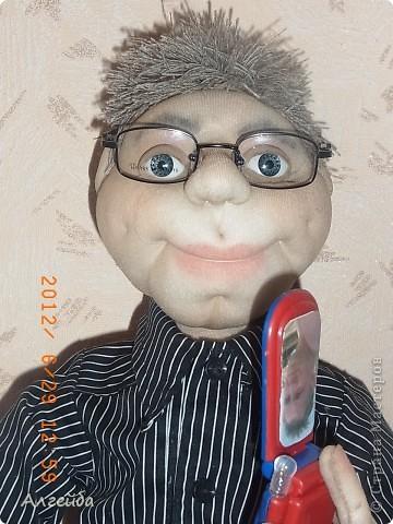 Домовенок-хранитель дома.... Имя не дала,уехал в город Киров на постоянное место жительства! фото 10