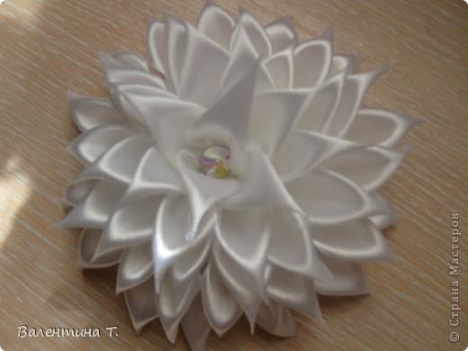 Мои первые работы в техники Цумами канзаши фото 3