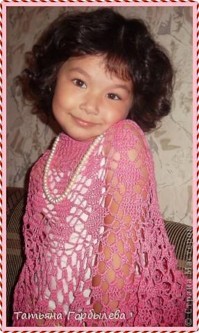 Да, этим летом у меня бурная юбкомания!!!!!! Спасибо нашей Ирине Голубке!!!!!Не так давно связала розовый топик дочке и вот можно быстро связать и юбочку, тем более такой повод, да и откладывать нет времени. фото 11
