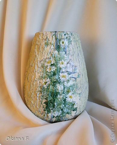 И снова я откопала старую керамическую вазу... фото 2