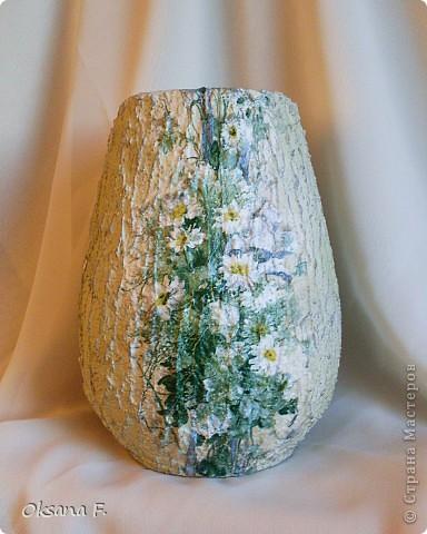 И снова я откопала старую керамическую вазу... фото 1