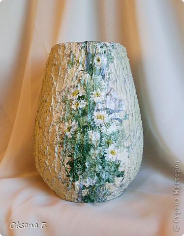 И снова я откопала старую керамическую вазу... фото 3