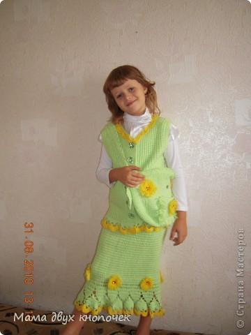 Венок для доции Викули на роль Весны в школе на праздник Масленицы фото 5